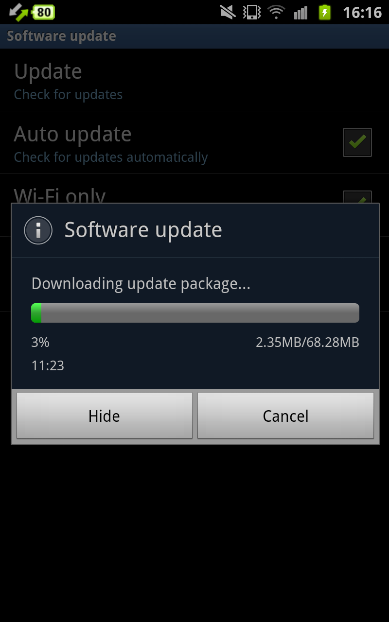 18 Jan 2012 : Software Update for Samsung Galaxy Note